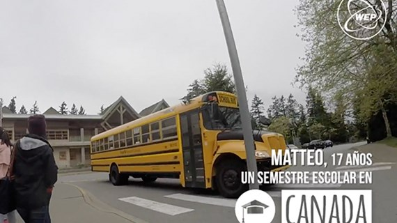 (video) Mi semestre escolar en Canada (Matteo)