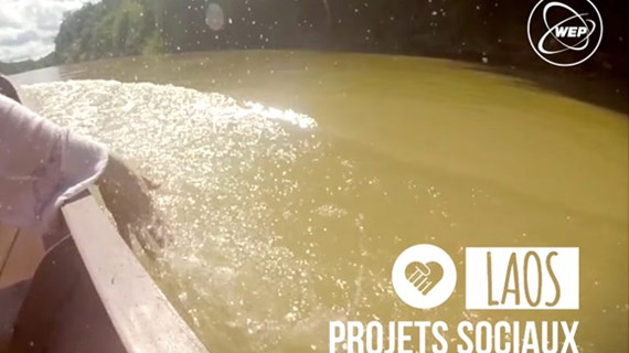 (video) Proyecto social in Laos