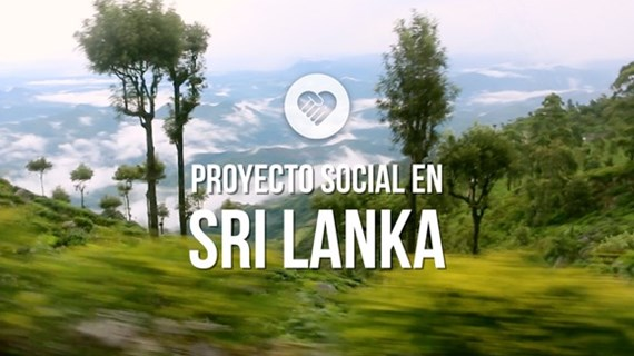 (video) Proyecto social en Sri Lanka